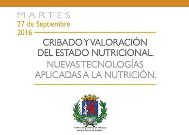 CURSO DE CRIBADO Y VALORACIÓN DEL ESTADO NUTRICIONAL.