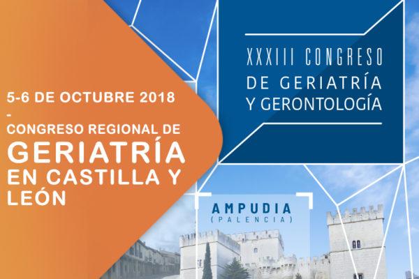 XXXIII Congreso de Geriatría y Gerontología Castilla y León