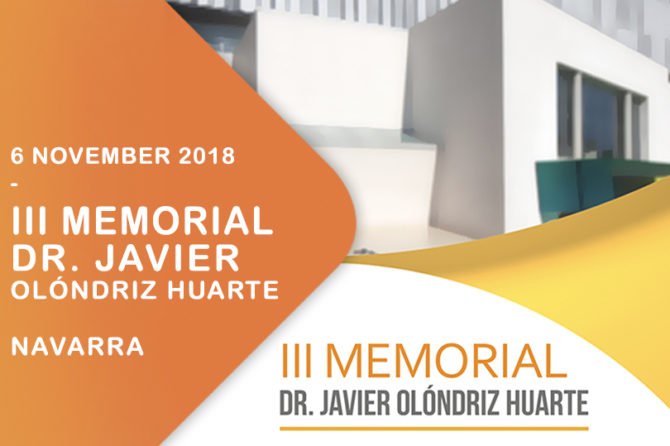 III Memorial: Dr. Javier Olóndriz Huarte