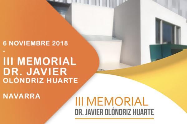 III Memorial Dr. Javier Olóndriz Huarte