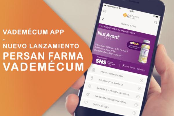 Persan Farma lanza su Vademécum App