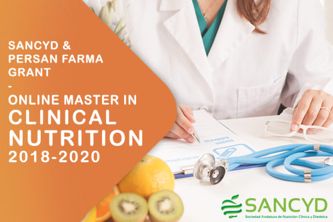 Sancyd and Persan Farma – Online Master in Clinical Nutrition 2018 – 2020